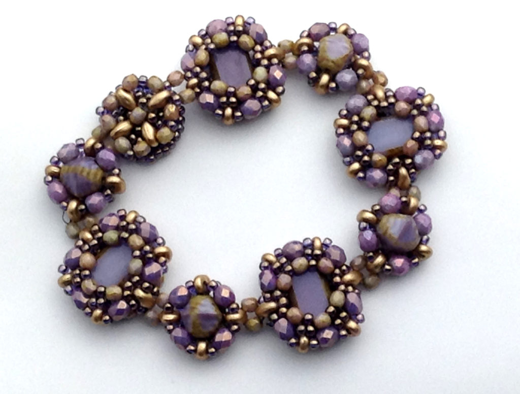 Purple and Gold Tierra Bracelet