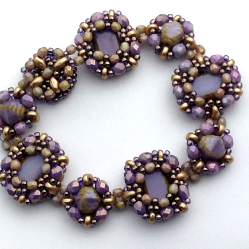 Tierra, Sol y Mar in Purples and Golds